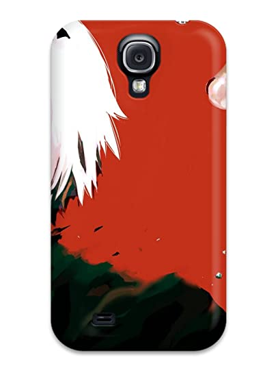 Perfect Fit MhslREj19404vYbHK Tokyo Ghoul Anime Gore Shotwhite Mascara Crazy Case For Galaxy - S4