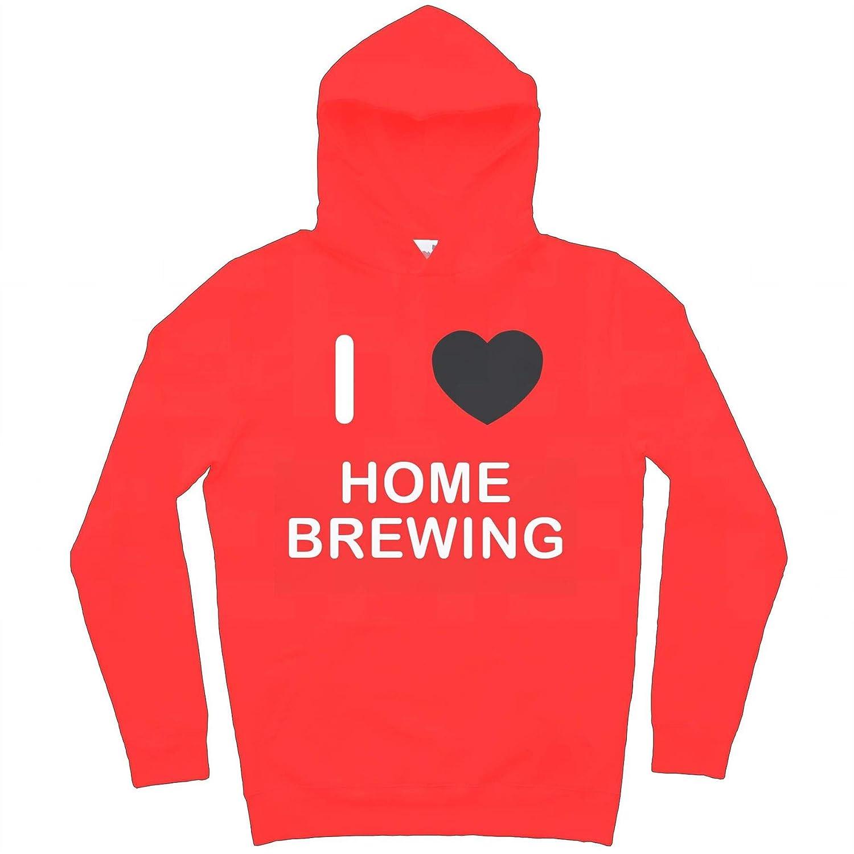 I Love Home Brewing Hoodie