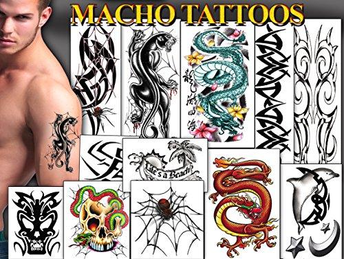Tattoos for Guys (Fake Tatoos)