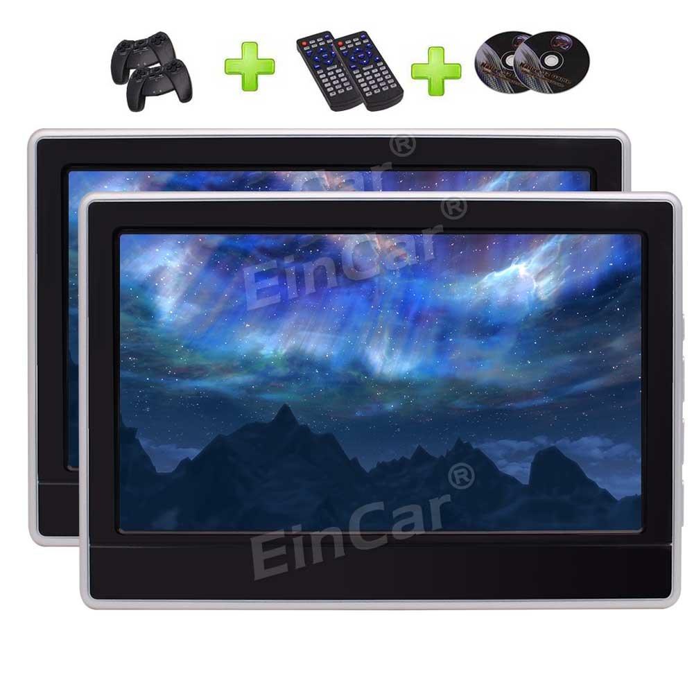 11.6 HD Digital Panel mit 1366 * 768 Auflösung Auto Auto-Monitor Kopfstütze Auto DVD-Player-Unterstützungs-USB -