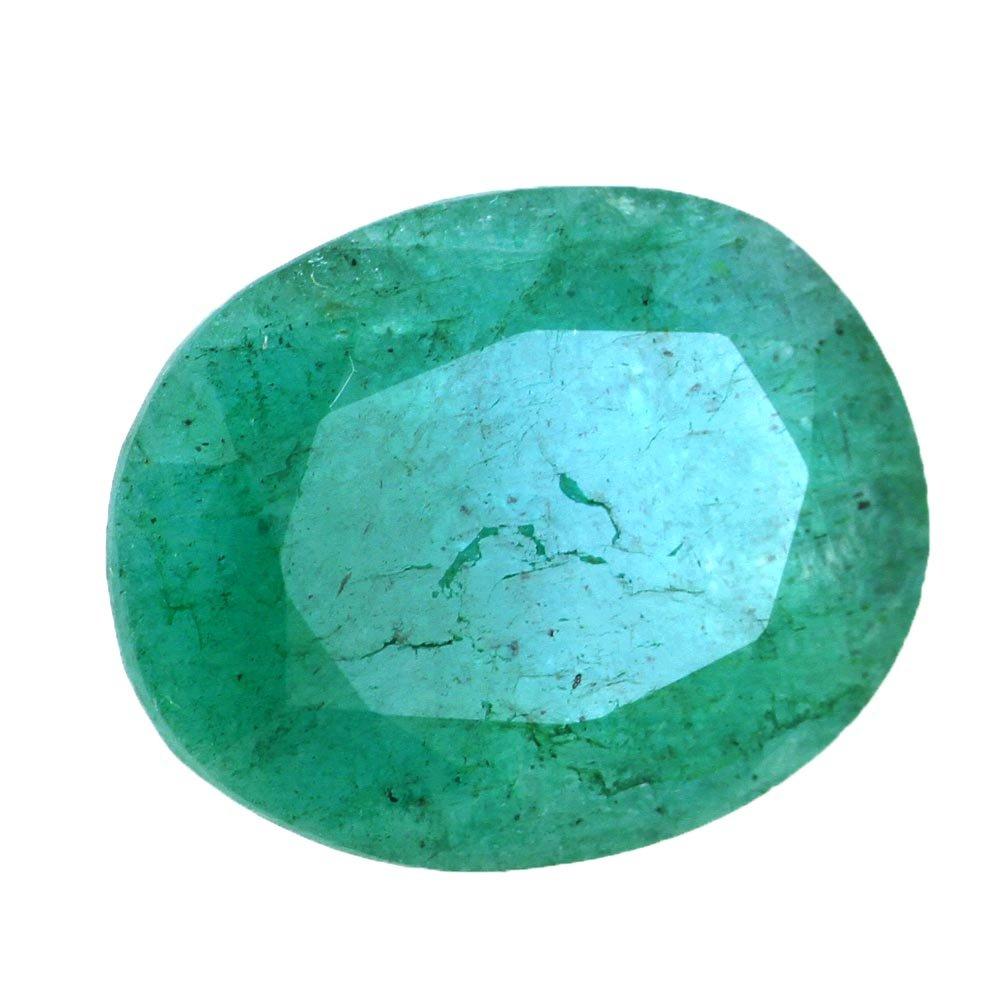 skyjewels 15.50 Carat Certified Oval Mixed Emerald Astrological Gemstone