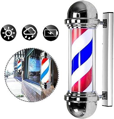 Apliques de exterior Impermeable Porche Barber Pole con lámpara ...