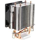B Baosity 3ピンCPU冷却ファンPC静音クーラー高性能ヒートシンクラジエーター