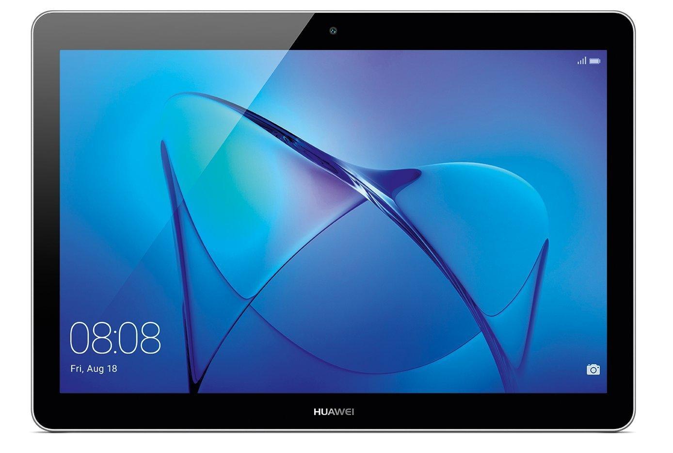 Huawei Mediapad T3 Tablet 4G LTE, Display da 10', CPU MSM8917, Quad-Core A53, 1.4 GHz, 2 GB RAM, ROM 16 GB Espandibile Fino a 128 GB con MicroSD, Space Gray (Ricondizionato Certificato) Display da 10