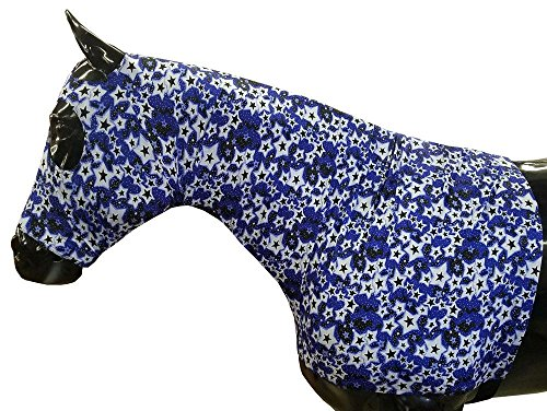 Sleazy Sleepwear for Horses Large Twinkle Print Zipper Stretch Hood
