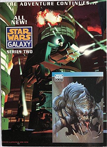 Star Wars Galaxy Series Two 1994 Topps Promo Card/Sheet