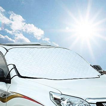 Awsgtdrtg Parabrisas Parasol Coche Protector Solar Parabrisas Bloque ...