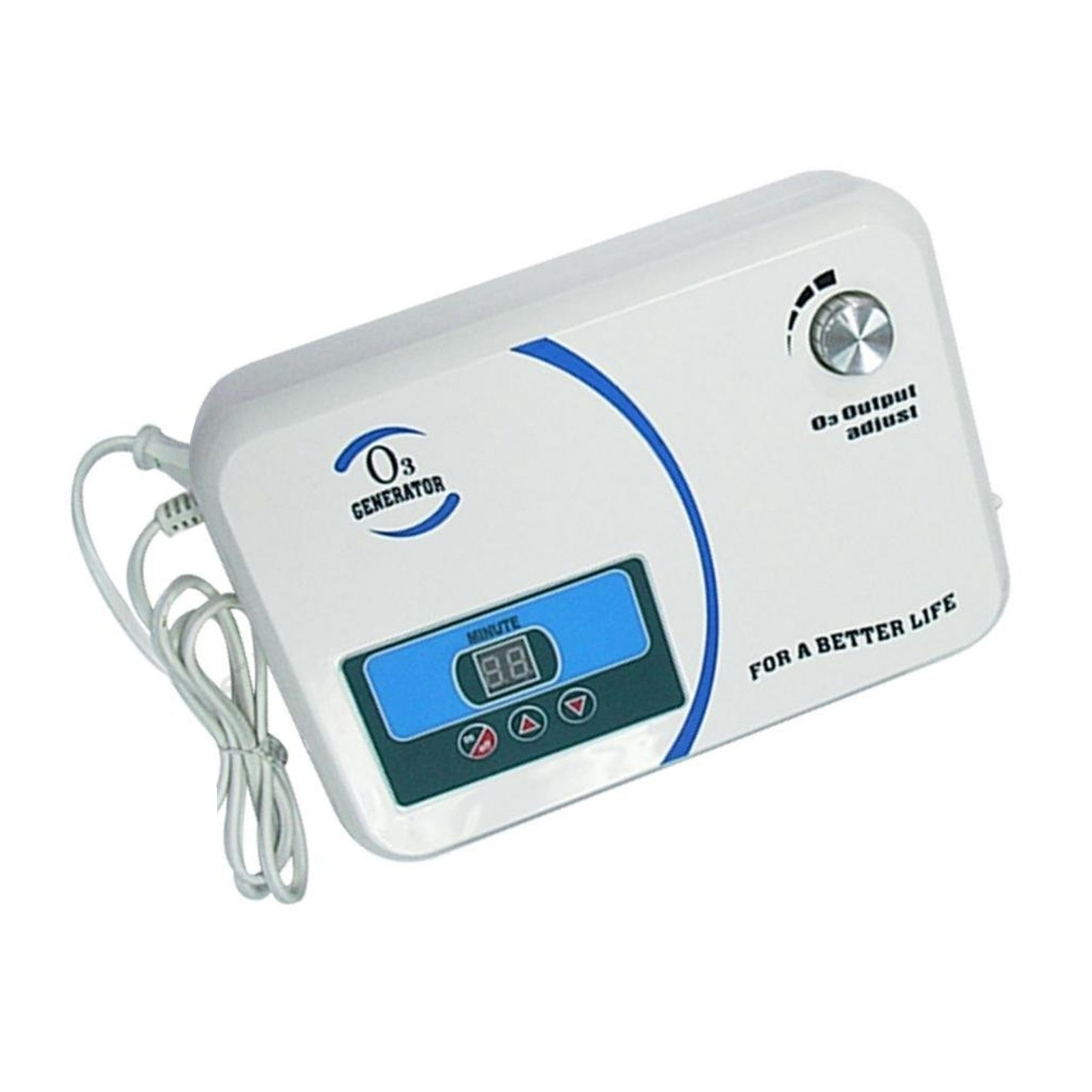 Ozone Generator 500mg Per Hour with Built in Air Pump Timer