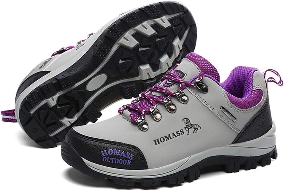 Bergort Trekking Boots Men Women Outdoor Climbing Camping Antiskid Sneakers