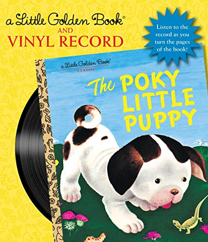 The Poky Little Puppy Book and Vinyl Record (Little Golden Book)