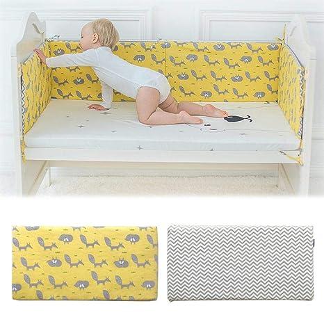 Baby Crib Liner, pesebre, parachoques, cojín para cama de ...