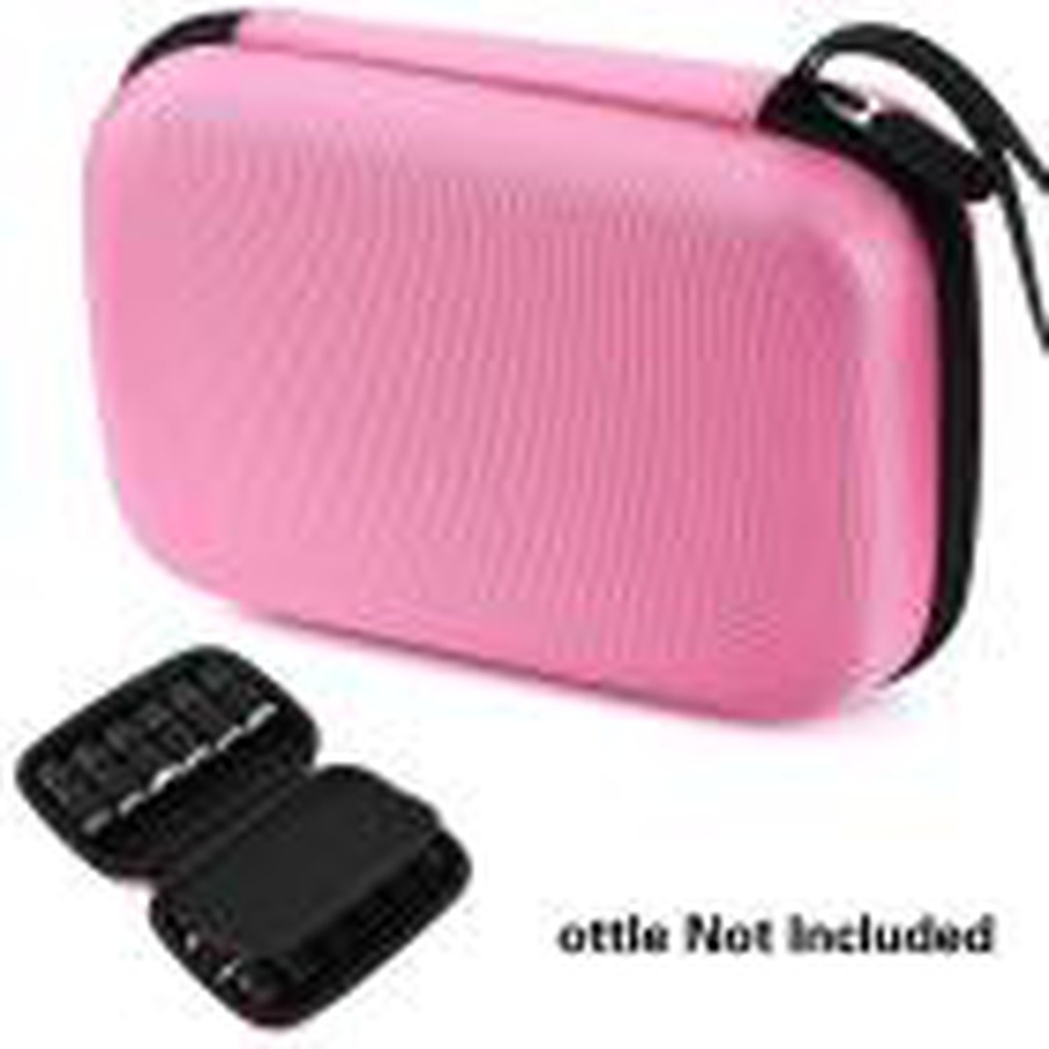 Chiffoned Storage Box For Essential Oils Case Carry Holder Aromatherapy Bag U71114,pk