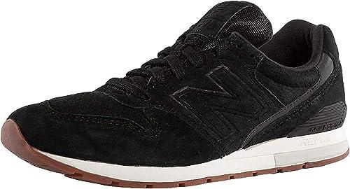 New Balance Men's Sneaker 996 Revlite in Black Suede
