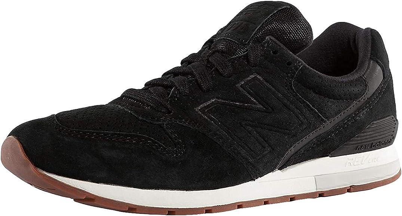 Sneaker 996 Revlite in Black Suede