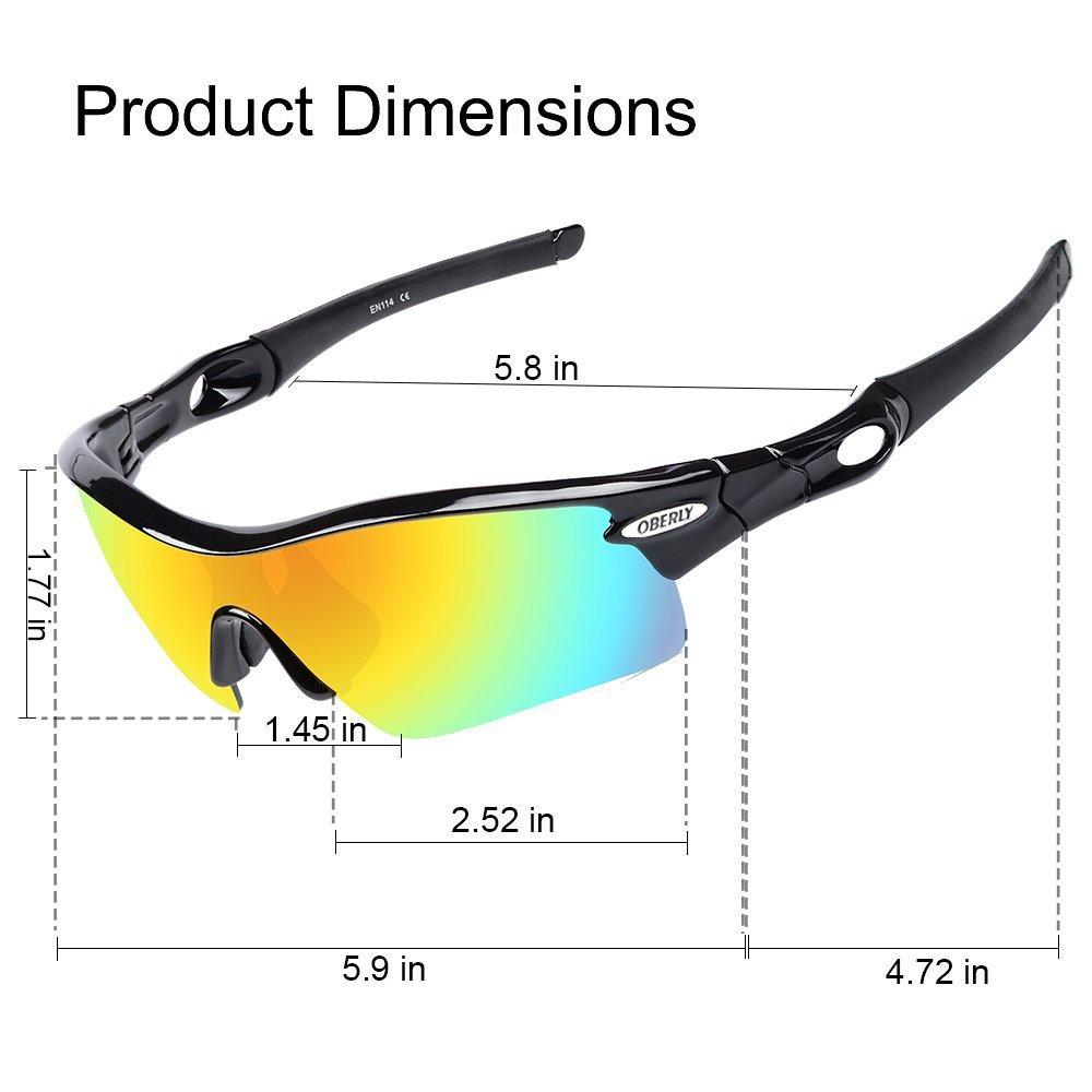Amazon.com: Gafas de sol polarizadas de béisbol, anteojos ...