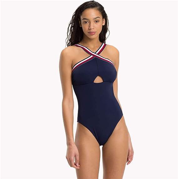 88dd7866f9d14 Tommy Hilfiger Women s One-Piece Rp Swimsuit