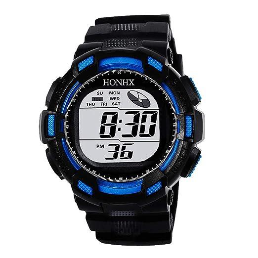 Dylung Reloj Deportivo para Hombre Reloj de Pulsera Smartwatch Camuflaje Relojes de Moda Inteligente Digital Militar Multifunciónal Resistente al Agua ...