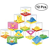 TOYMYTOY 12 PCS Puzzle Mini Puzzle Puzzle Game for Kids Patience Game Kids Birthday Puzzle Game