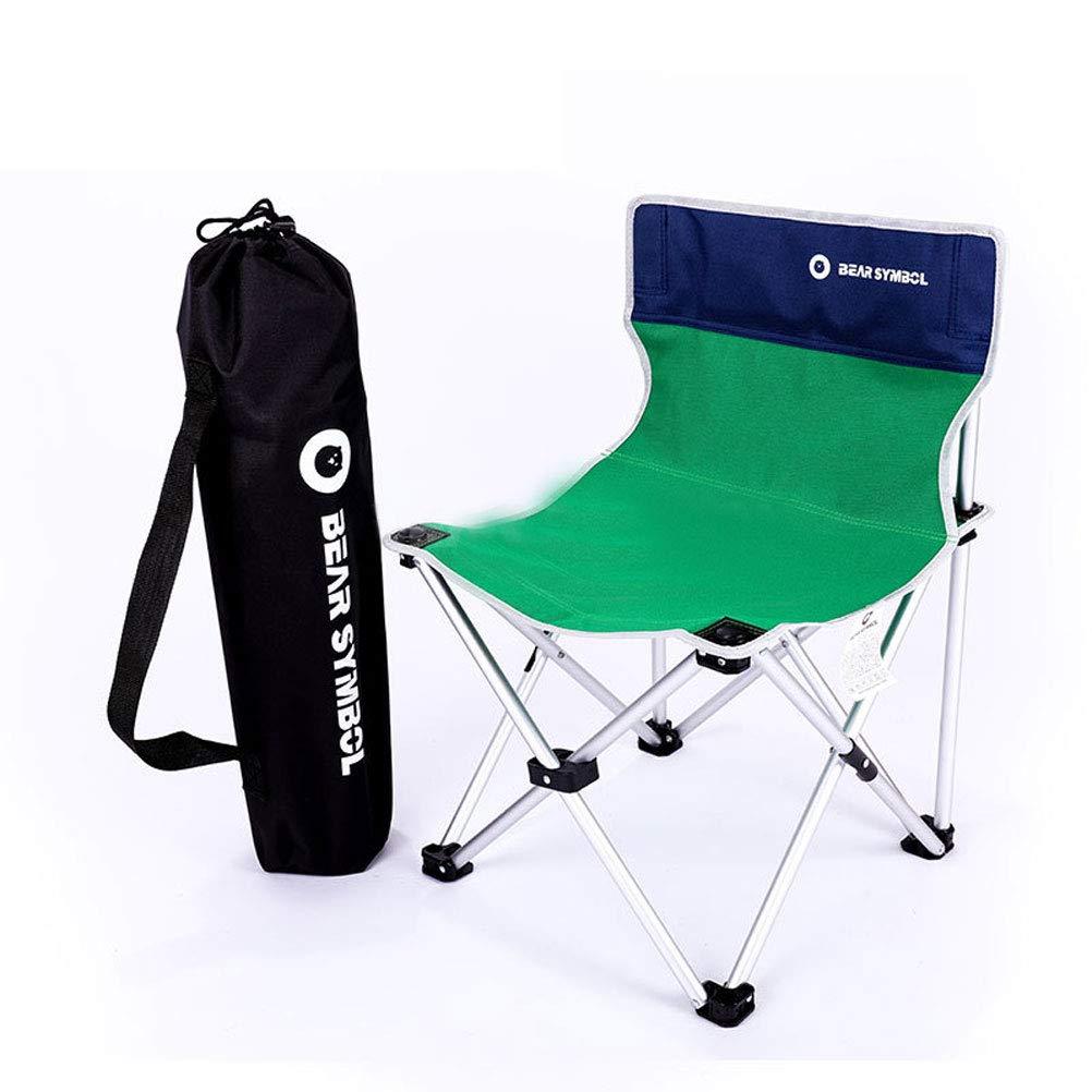 Silla Plegable Camping Plegable Ideal para Acambaca Senderismo Viaje Caza Pesca,Green: Amazon.es: Deportes y aire libre