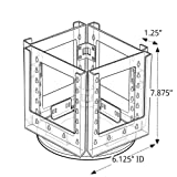 Azar 252319 Four-Pocket Bi-Fold Size Holder on