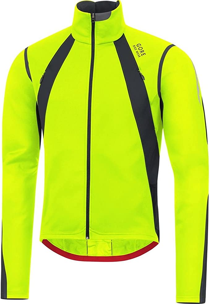 GORE BIKE WEAR Herren Warme Fleece Rennrad Jacke, GORE WINDSTOPPER, OXYGEN GWS Jacket, JWSOXY