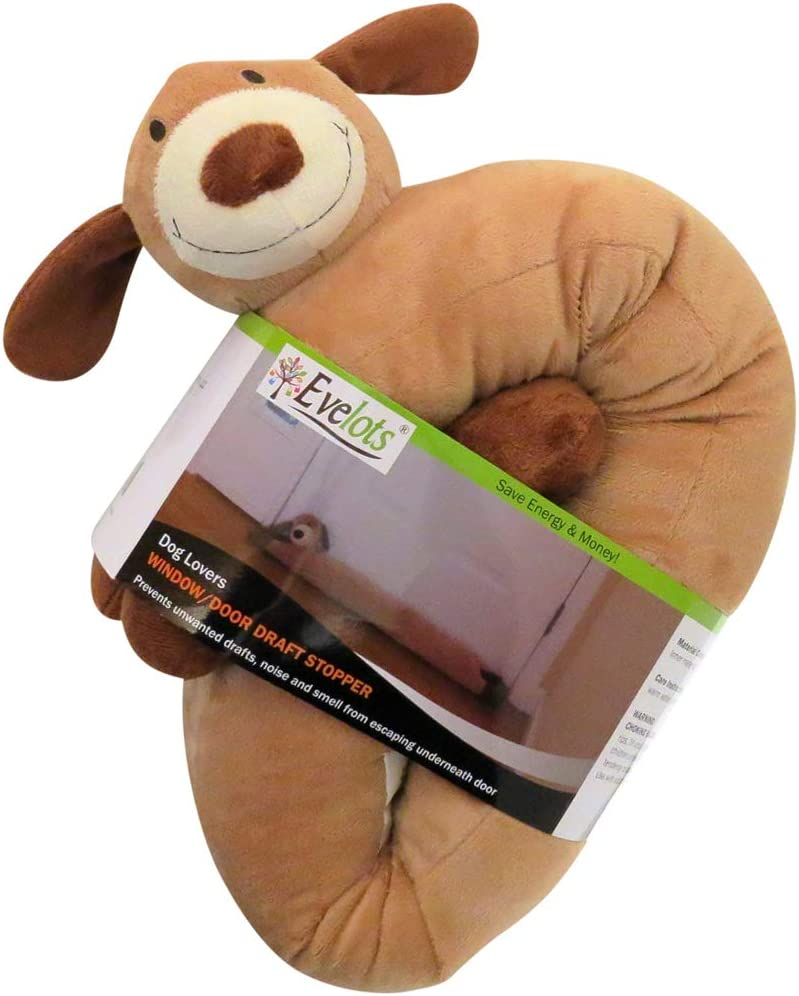Evelots Dog Draft Stopper-Door//Window-38 Inch-Keep Heat in-No Cold//Noise//Insect