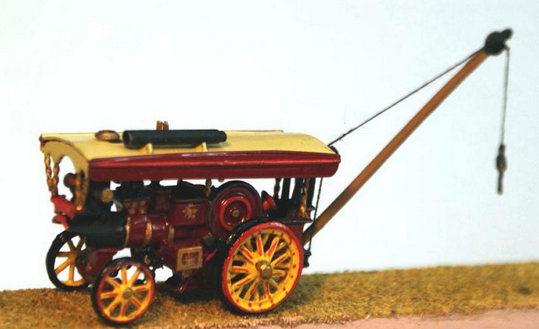 Langley Models Burrell 8nhp Showmans Road Locomotive N Scale UNPAINTED Kit E38