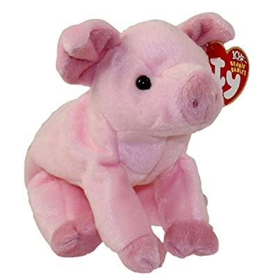 TY Beanie Baby - HAMLET the Pig: Toys & Games