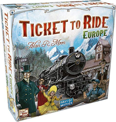 Ticket To Ride - Europe from Days of Wonder