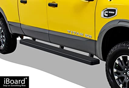 High Quality APS IBoard Running Boards (Nerf Bars | Side Steps | Step Bars) For 2004