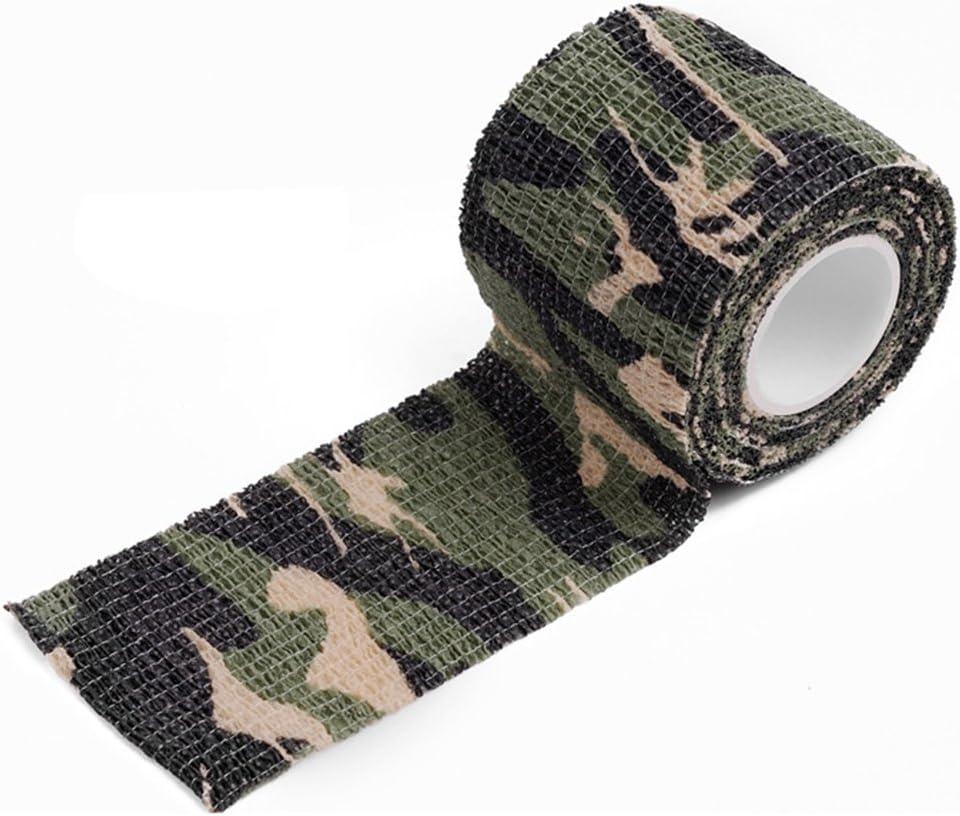 Blackr Cinta de camuflaje resistente al agua para caza al aire libre con elasticidad camuflaje
