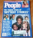 People Weekly Magazine March 25 1991: The Tragic Stars of Diff'rent Strokes