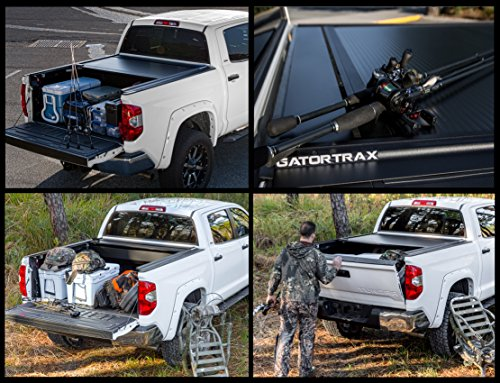 Gatortrax Retractable (Fits) 2017-2019 Ford Super Duty F250 F350 6.9 Foot Bed Only Matte Truck Bed Tonneau Cover (G60383) Made in The USA