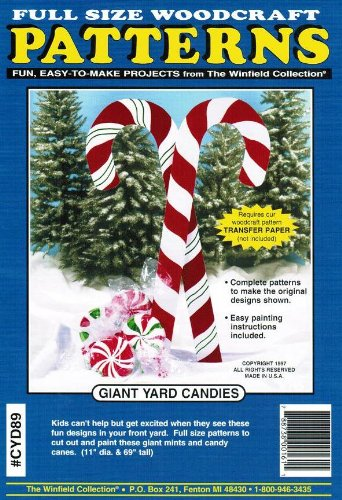 Giant Yard Candies Woodcraft Pattern Woodworking Project Plans Enchanting Woodcraft Patterns