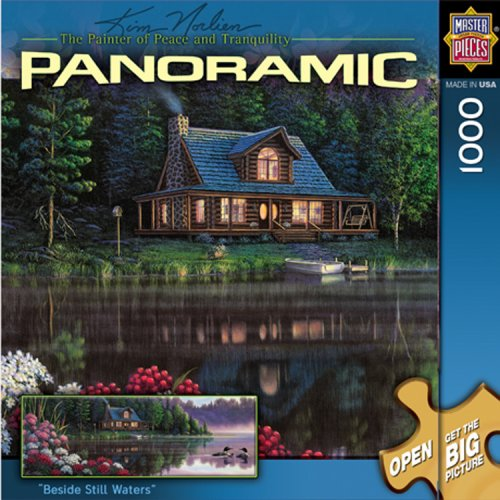 MasterPieces Beside Still Waters 1000 Piece Puzzle Kim Norlien Panoramics