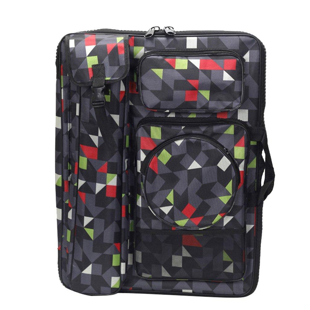 Ketamyy Multifunzione Ampia Cerniera Impermeabile 4K Strumenti Di Pittura Schizzo Zaino Per Artista Drawboard Bags