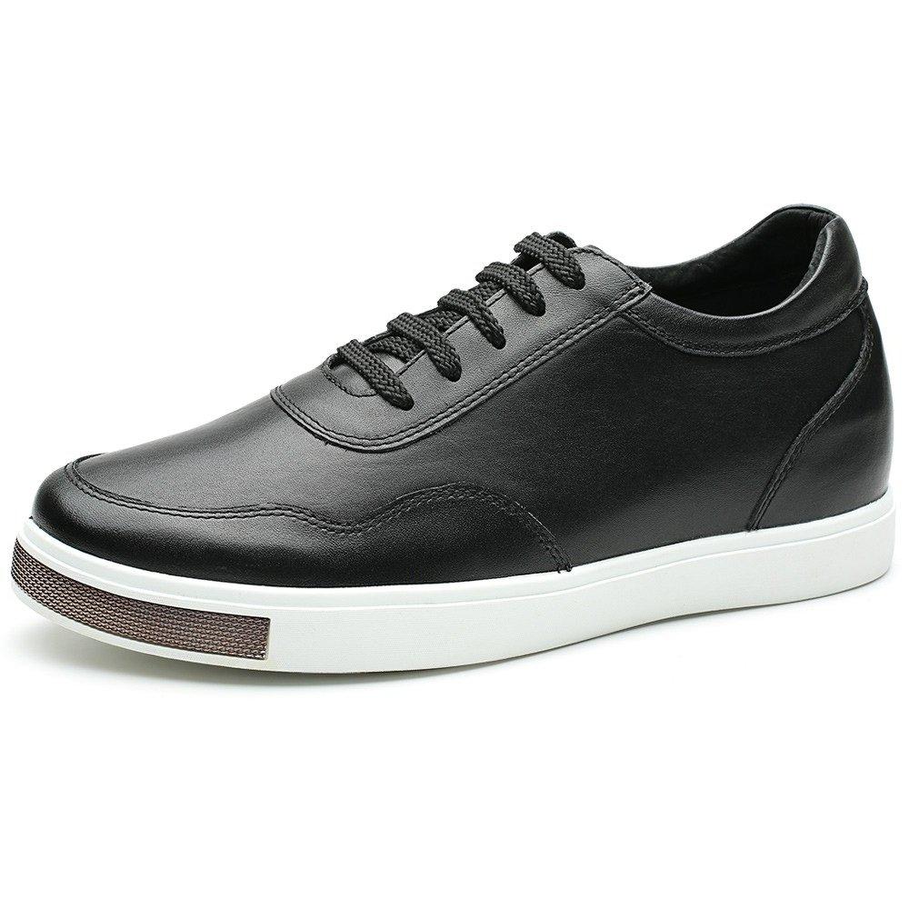 CHAMARIPA(JP) 底上げ靴 身長6cmUP メンズ シークレットシューズ 背が高く ウォーキング カジュアル スケートボード B01D4PWDSY 29.5 cm ブラック