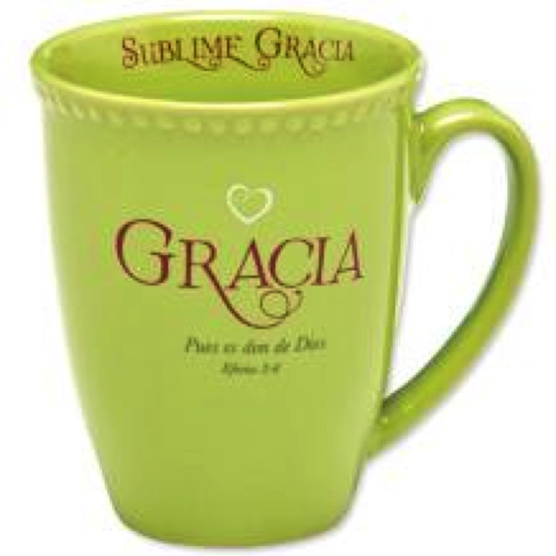 Amazing Grace for a Woman's Heart Ceramic Mug & Gift Box (SPANISH)