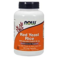 NOW Supplements, Red Yeast Rice with CoQ10, plus Milk Thistle & Alpha Lipoic Acid...