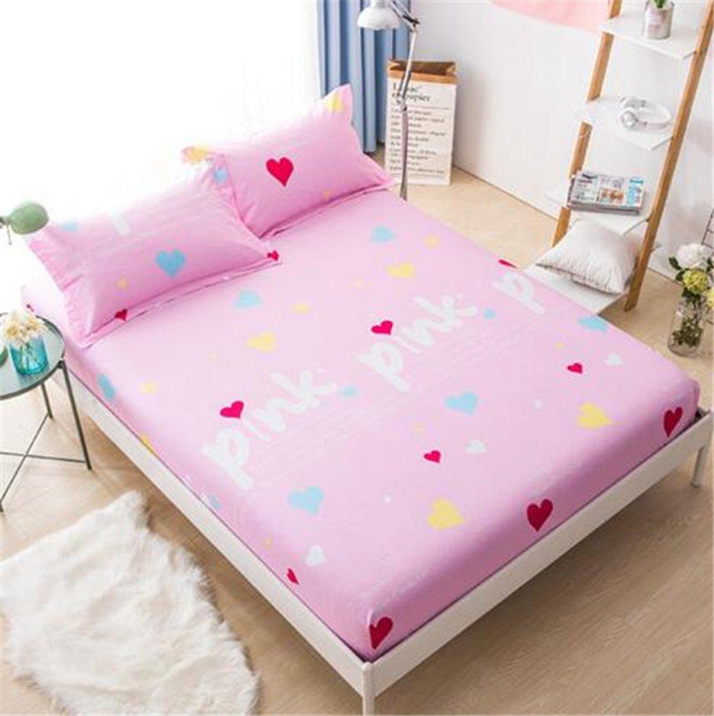 Wmshpeds Cama de algodón colchones individuales no cubierta protectora deslizante - ropa de cama de algodón: Amazon.es: Hogar