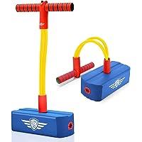 LetsGO toyz Pogo Stick para Niños, Regalos Cumpleaños & Aire Libre Deporte Juguetes - Carga MAX 100 KG