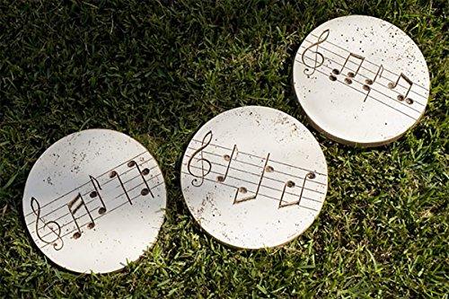 Piazza Pisano Music Garden Stepping Stones