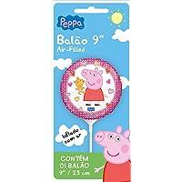 Balao Met Air-filled Peppa Pig Pack - Pacote Com 01 Un Regina Colorido