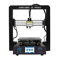 Anycubic i3 MEGA Impresora 3d 3,5 Pulgadas TFT Pantalla Táctil con Tamaño de Impresión Grande φ210x210x205mm(Negro)