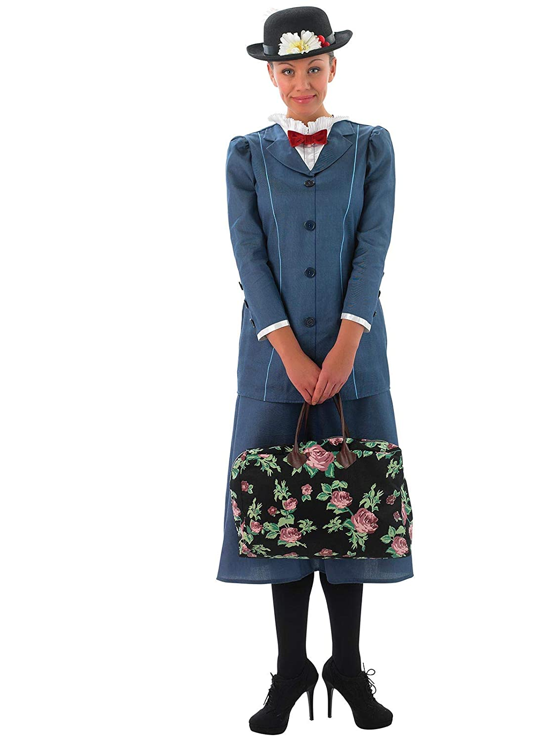 Small Rubie's Official Ladies Disney Mary Poppins, Adult Costume  Small