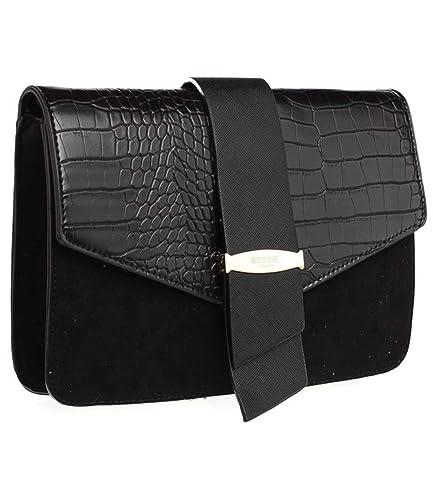 c0a5f70e8c Bessie London Urban Moc Croc Cross Body Bag  Amazon.co.uk  Shoes   Bags