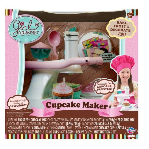 girls gourmet cupcake maker - 9