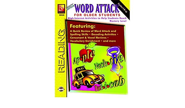 Counting Number worksheets free syllable worksheets : Quick Word Attack for Older Students: High-Interest Activities to ...