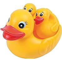 Brinquedo para Bebe Pata Mãe para Banho Pais E Filhos