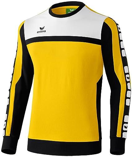 8b02e829fd77b9 erima Herren Classic 5-C Sweatshirt  Amazon.de  Sport   Freizeit